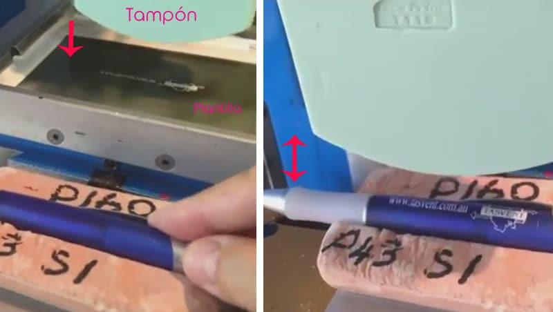 Técnicas - Proceso de tampografía