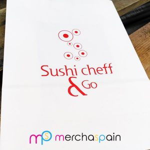 Bolsas de papel Sushi Cheff
