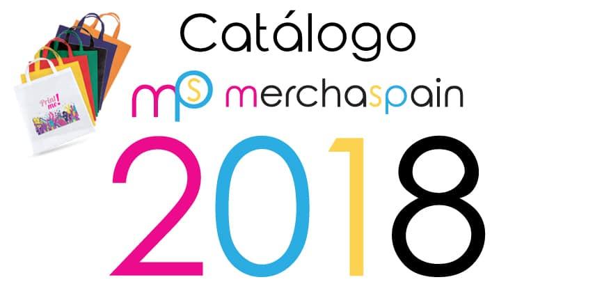 Catálogo de merchandising 2018