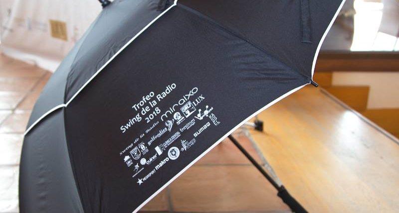 Paraguas de golf – Trofeo Swing de la Radio