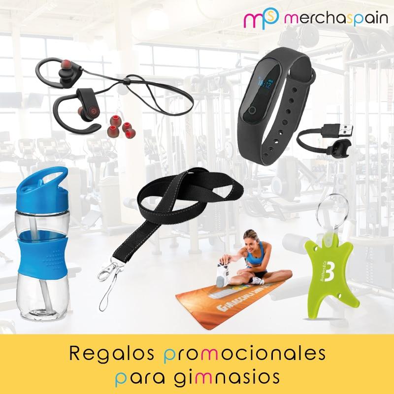 Regalos promocionales personalizados para gimnasios - Merchaspain