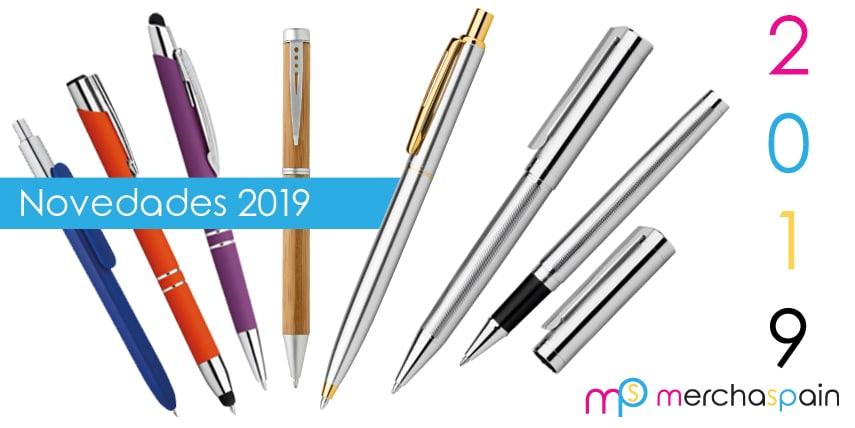 Nueva colección de bolígrafos 2019