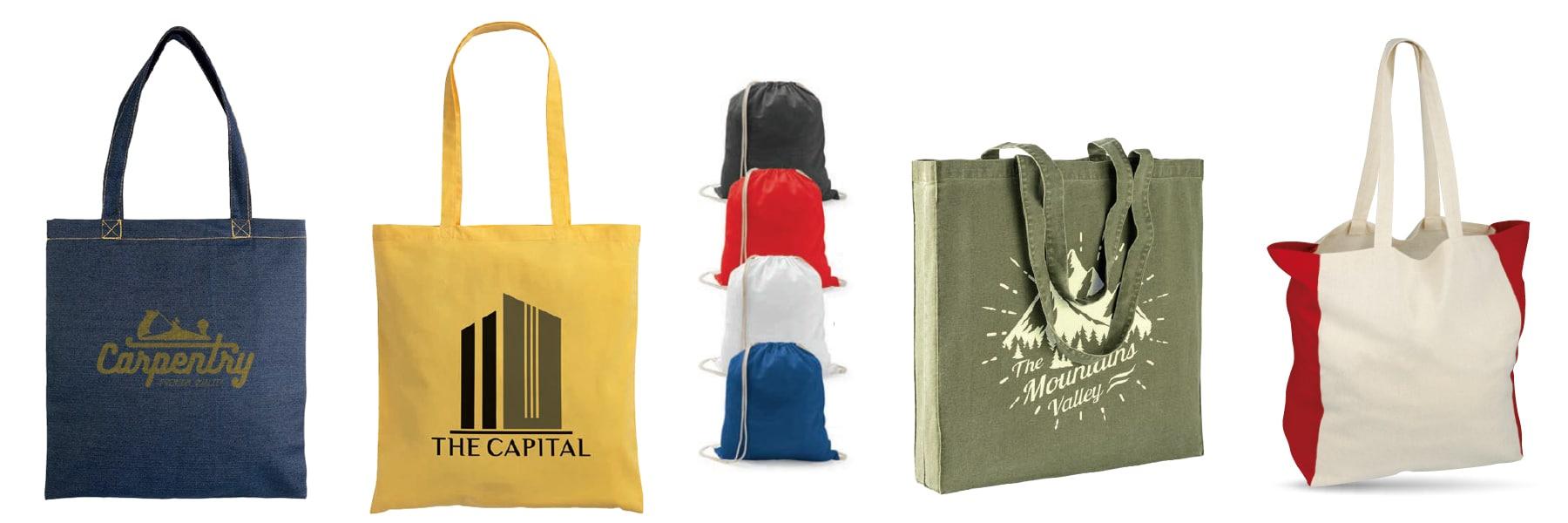 Bolsas de tela personalizadas en Mallorca - Merchaspain