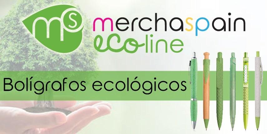 Nuevos bolígrafos personalizados ecológicos