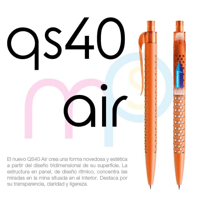 Bolígrafo QS40 Air de Prodir - Merchaspain, bolígrafos personalizados